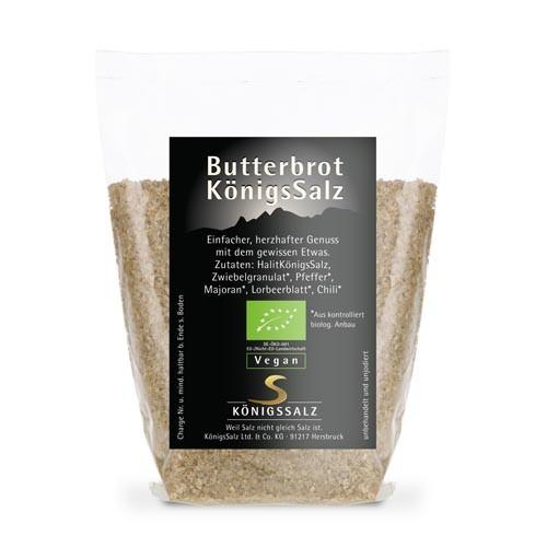 ButterbrotKönigsSalz Tüte 100g aus k.b.A