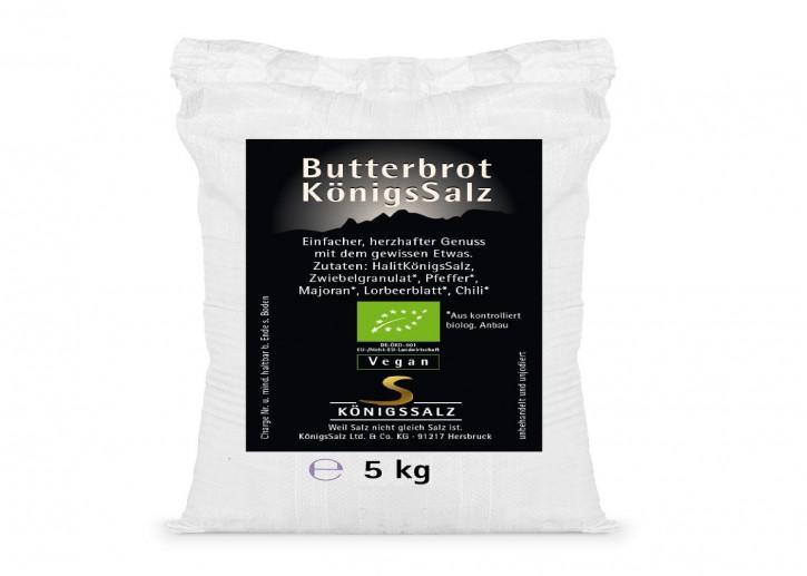 ButterbrotKönigsSalz Eimer 5kg aus k.b.A