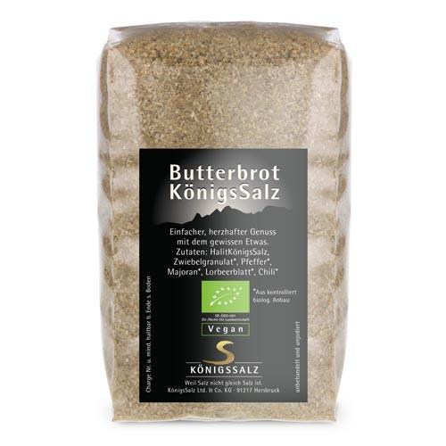 ButterbrotKönigsSalz Tüte 250g aus k.b.A