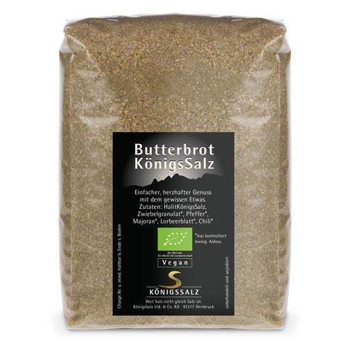 ButterbrotKönigsSalz Tüte 500g aus k.b.A.