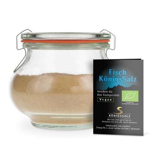 FischKönigsSalz Glas 180g aus k.b.A.