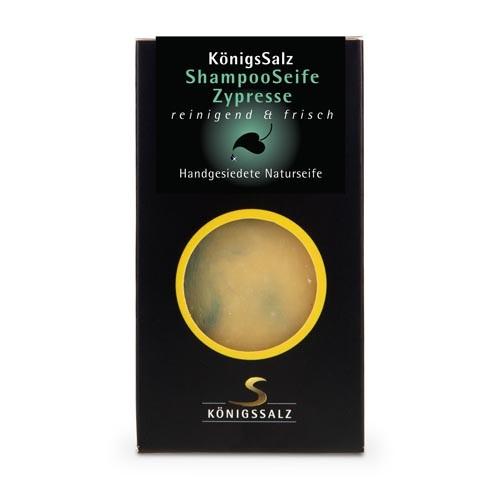 KönigsSalz Shampooseife Zypresse