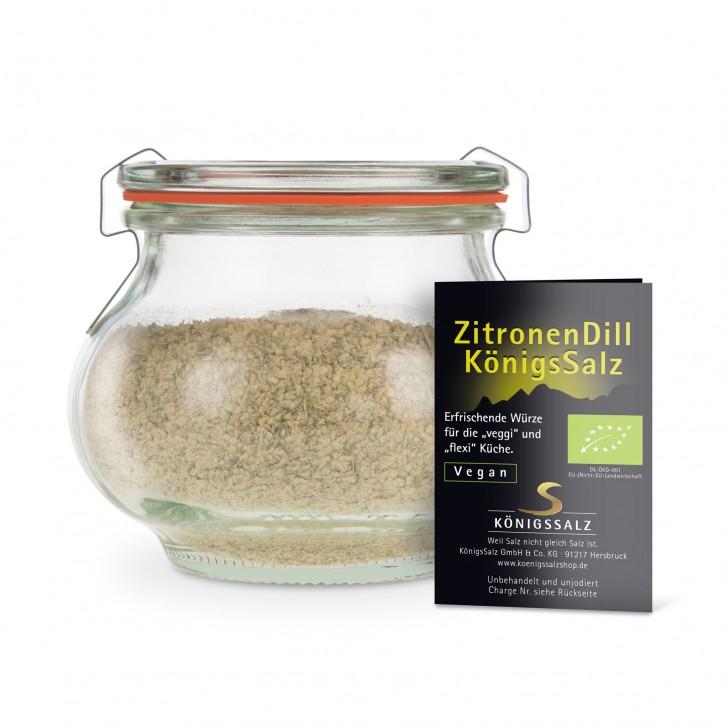 ZitroneDillSalz Glas 180g aus k.b.A.