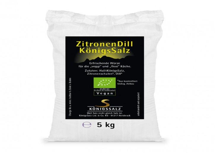 ZitroneDillSalz Eimer 5kg aus k.b.A.