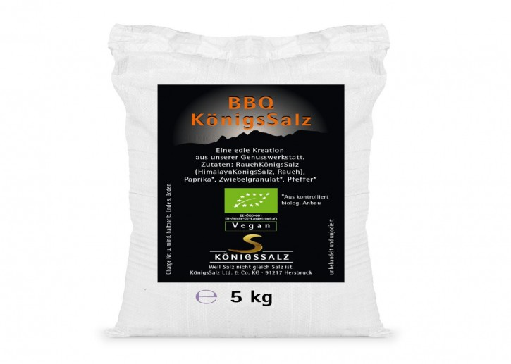 BBQSalz Eimer 5kg aus k.b.A.