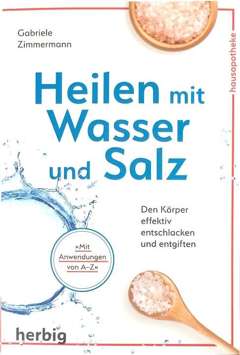 Buch ´Heilen mit Wasser und Salz´ Gabriele Zimmerm