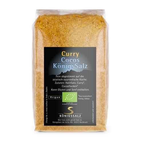 CurryCocosSalz Tüte 250 g aus k.b.A