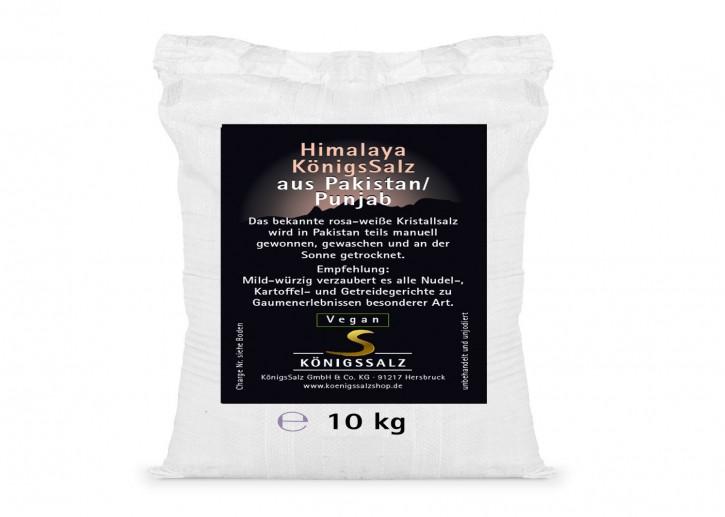 HimalayaKönigsSalz Granulat 2-5mm Eimer 10kg