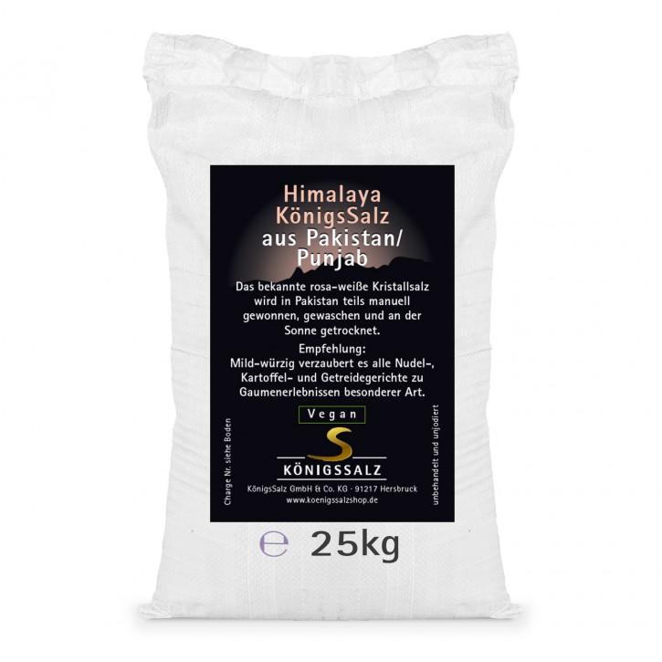 HimalayaKönigsSalz Granulat 2-5mm Sack 25kg
