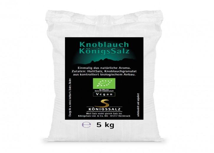 KnoblauchSalz Eimer 5 kg aus k.b.A.