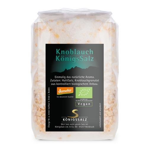 KnoblauchSalz Tüte 250 g aus k.b.A.