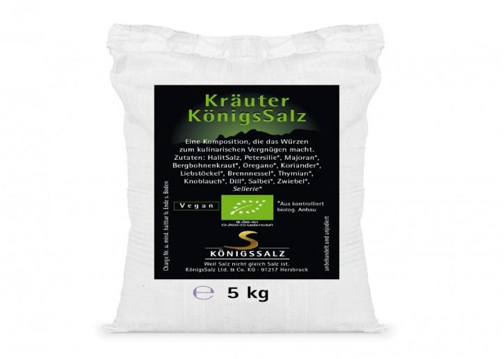 KräuterSalz Eimer 5kg aus k.b.A.