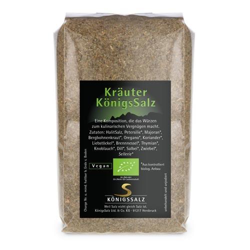 KräuterSalz Tüte 250 g aus k.b.A