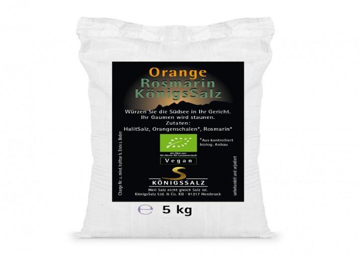 OrangeRosmarinSalz Eimer 5kg aus k.b.A.