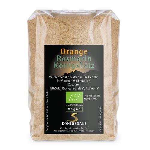 OrangeRosmarinSalz Tüte 250 g aus k.b.A.