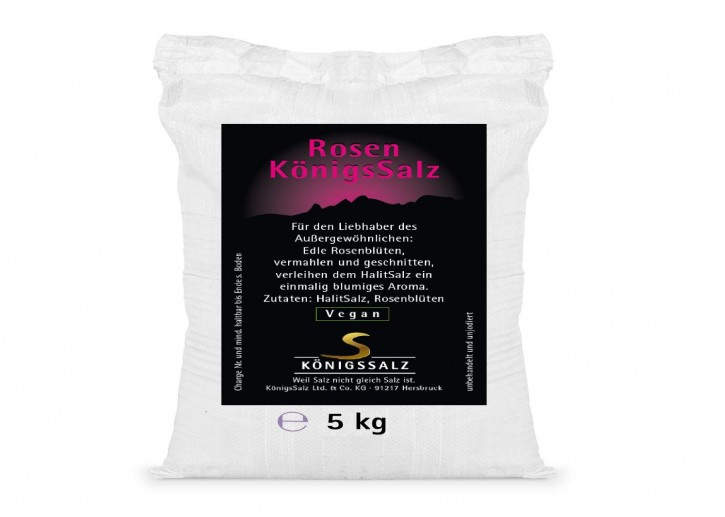 RosenSalz gemahlen Eimer 5 kg