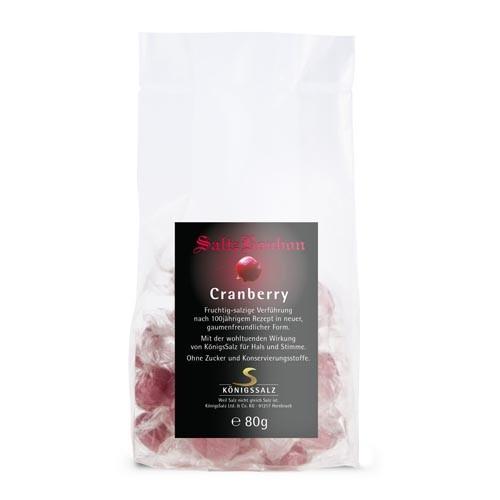 SaltzBonbon Cranberry Tüte 80g
