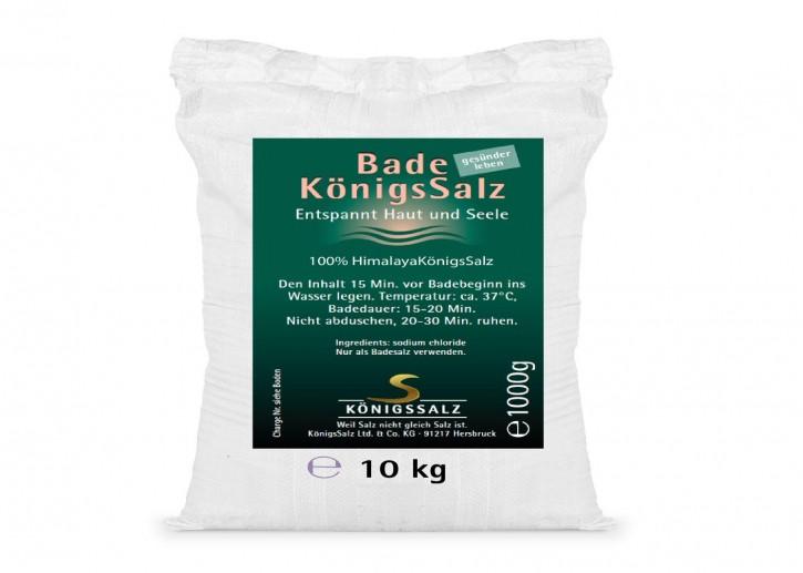 BadeKönigsSalz 100% Himalaya Eimer 10kg