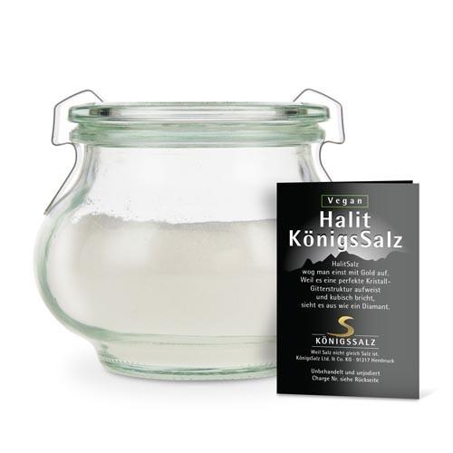 HalitSalz gemahlen Glas 180g