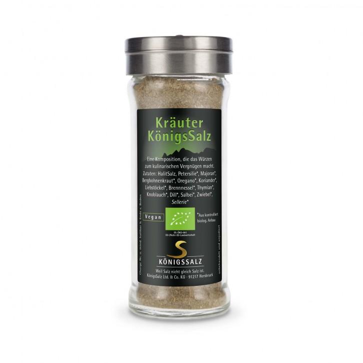 KräuterSalz im GlasStreuer 80g aus k.b.A.