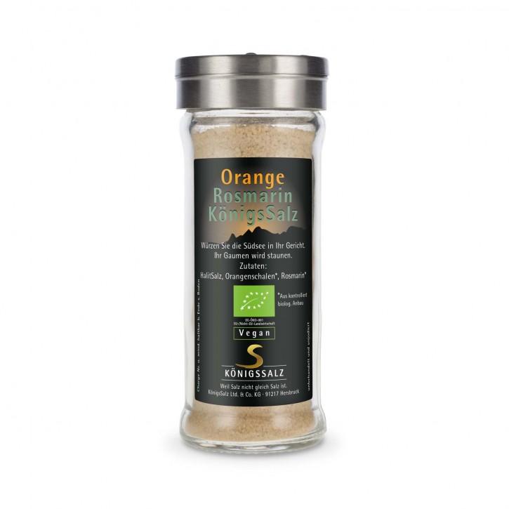 OrangeRosmarinSalz GlasStreuer 80g aus k.b.A.