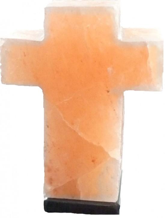 "Lampe ""Kreuz"" mit Marmorsockel, H=ca. 28cm"