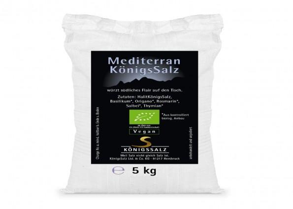 MediterranKönigsSalz Eimer 5kg aus k.b.A.