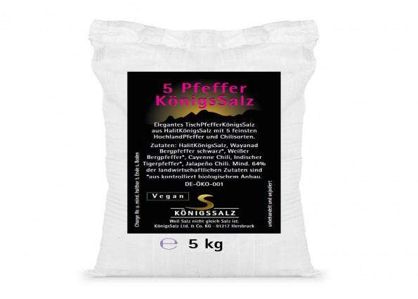 5PfefferKönigsSalz Eimer 5 kg