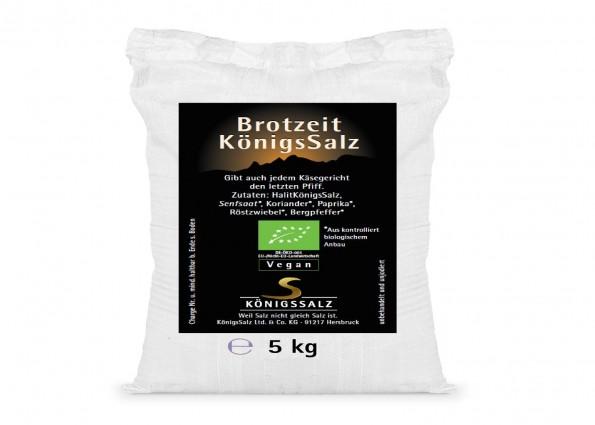 BrotzeitSalz Eimer 5kg aus k.b.A.