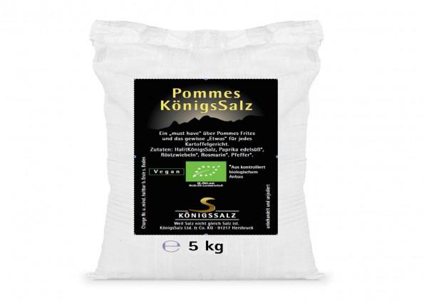 PommesSalz Eimer 5 kg aus k.b.A.