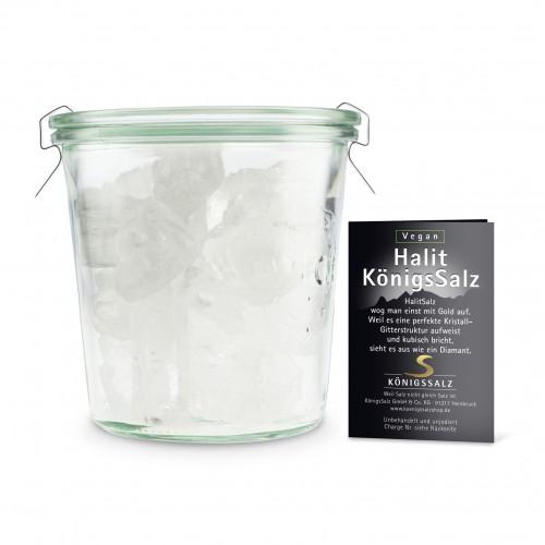 HalitSalz Kristalle Glas 500g