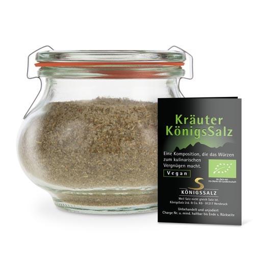 KräuterSalz Glas 180g aus k.b.A.