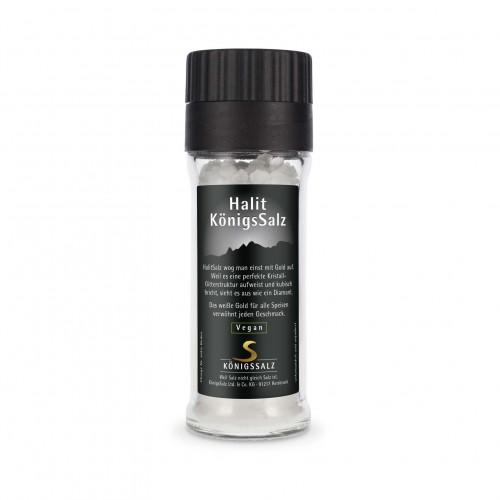 HalitSalz Granulat in der GlasEinwegMühle 80g